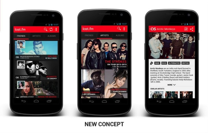 Android Apps can look good too! Community redesigns popular apps ...