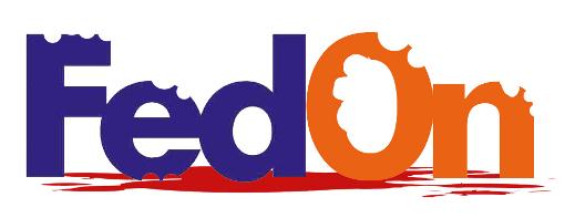 fedex zombie logo
