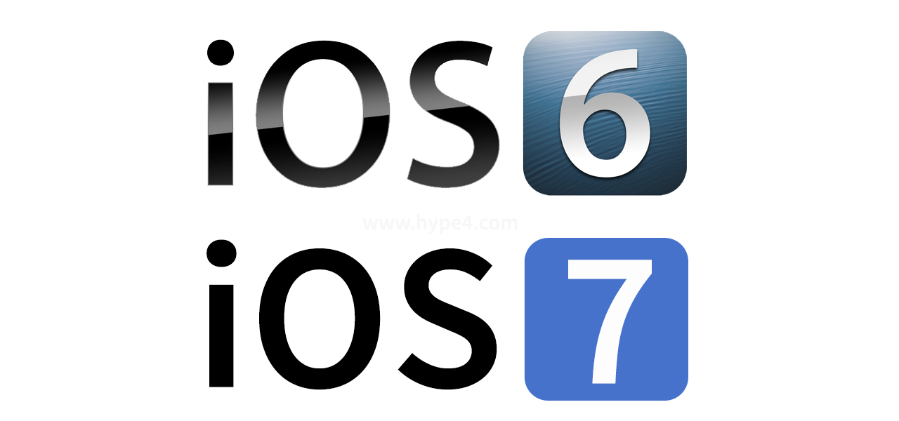 iOS 7 flat design Innsbruck