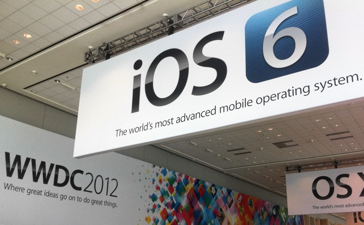 ios 6 banneer wwdc12 moscone west