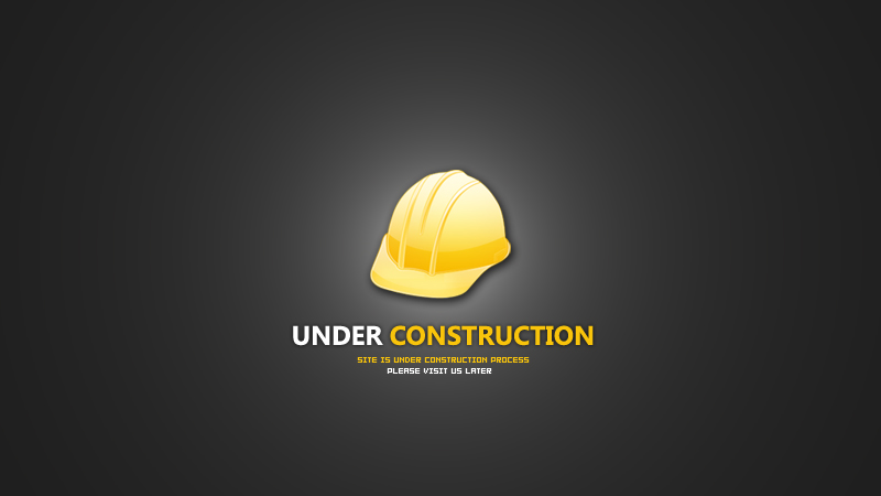 websites under construction forever