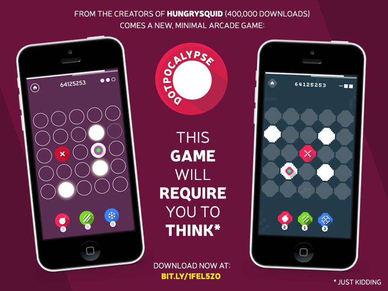 Dotpocalypse iOS arcade game