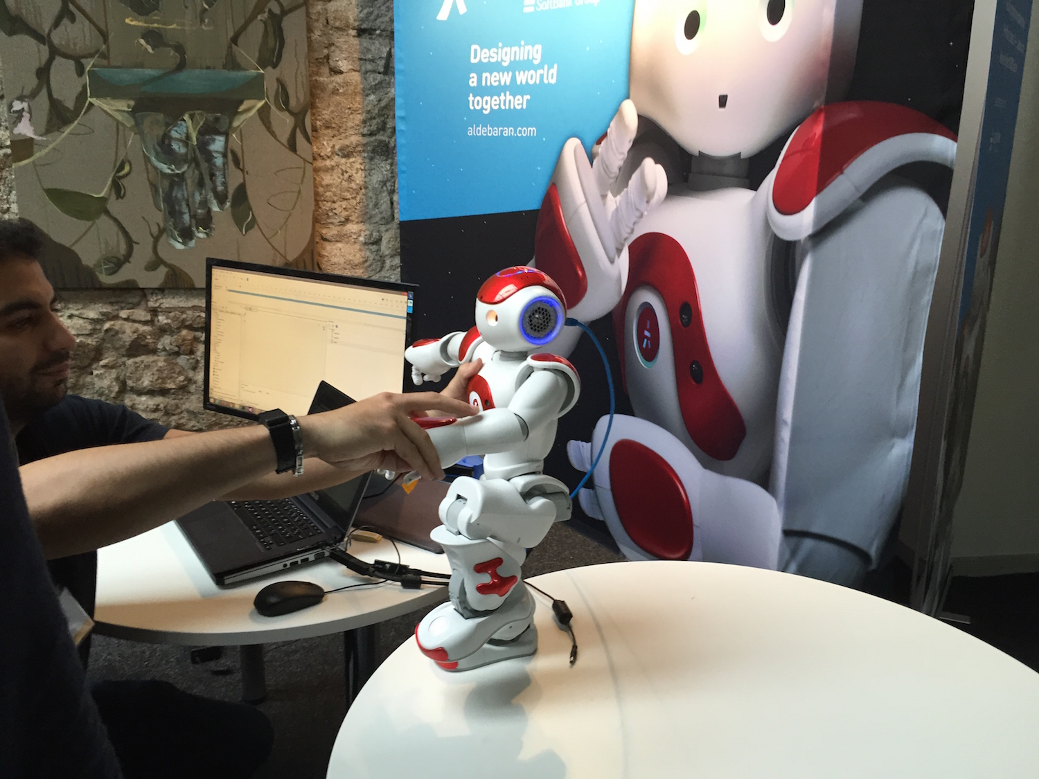 Robots at the web summit